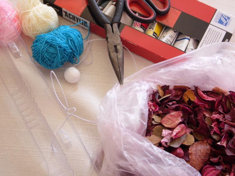 Cómo hacer un hada con hilo y alambre