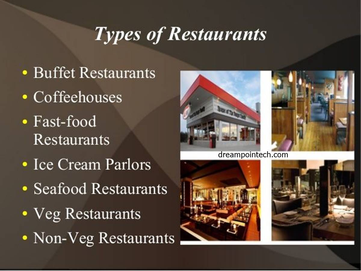 Determine the Type of Restaurant You Want