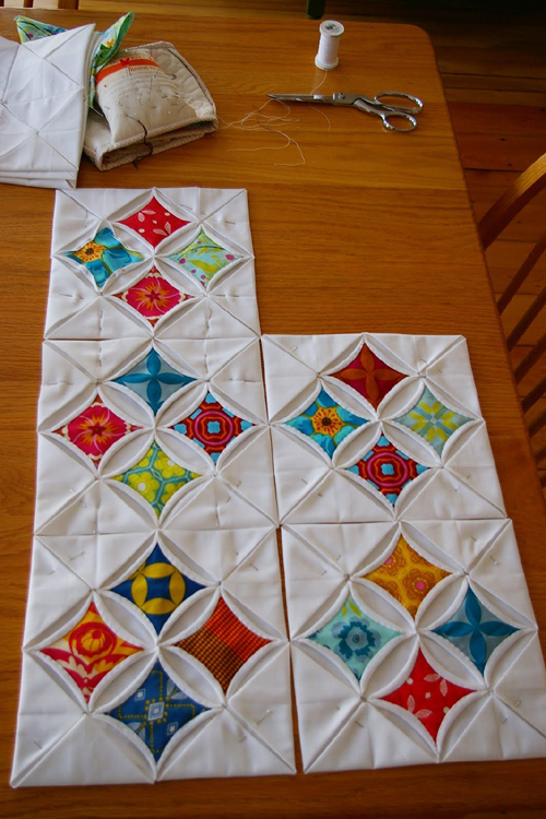 Cathedral Windows - Quilt Tutorial