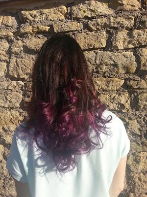 Purple ma vie , violet mes cheveux
