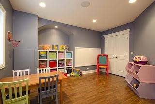 ديكورات وافكار الوان دهانات غرف اطفال جديدة وعصرية بالصور