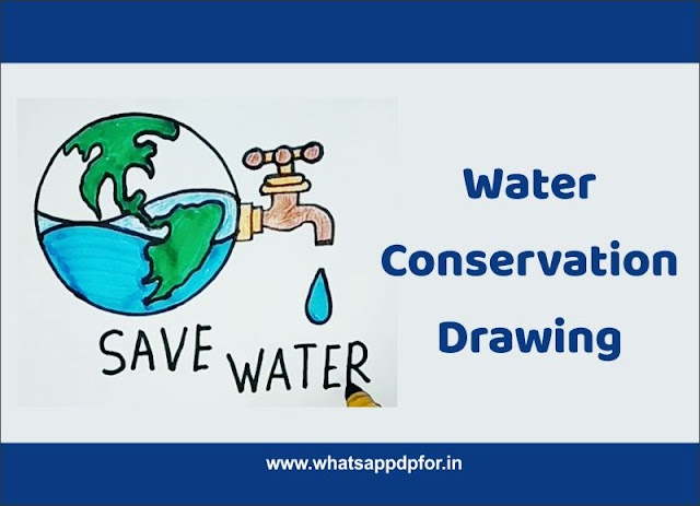 50 Best Water Conservation Drawing [Save Water Drawing] Water Pollution Drawing