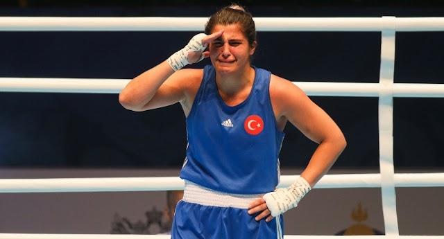 Dünya kadınlar boks şampiyonasında altın madalya kazanan sporcumuz?