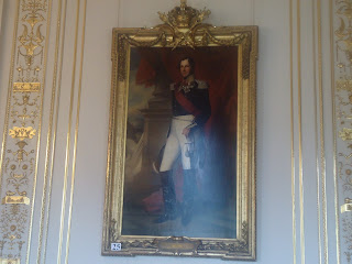 Leopold I Royal Palace in Brussels Belgium