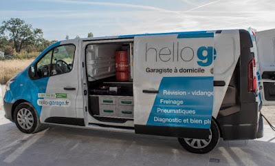 Hello Garage, le garage à domicile comme alternative aux garages traditionnels