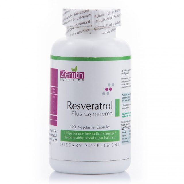 Zenith Resveratrol Plus With Gymnema Sylvestre Review
