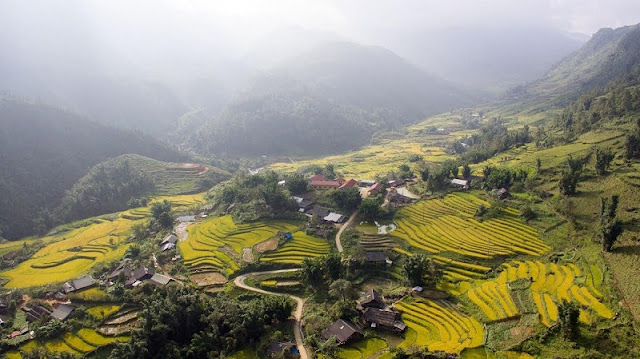 Where should you go in 3 locations to Halong Bay, Sapa and Ha Giang this Fall? 2