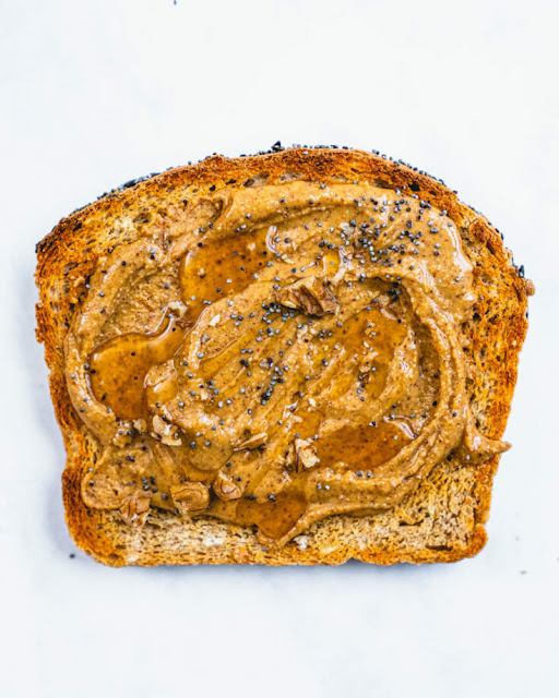 Healthy Almond Butter Toast