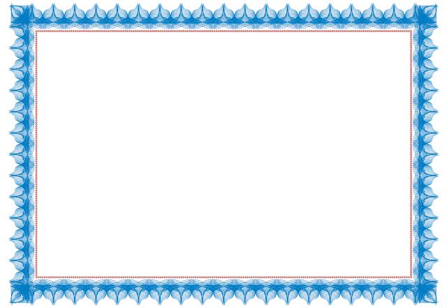 contoh desain sertifikat
