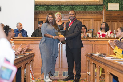 THE YCEO: Peace Hyde receives Social Impact Award at the UK House of Commons, House of Parliament