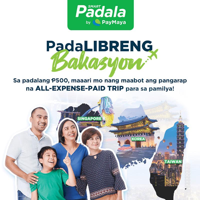 Smart Padala by PayMaya's Padalibreng Bakasyon promo