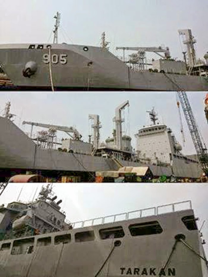 KRI Tarakan 905: Kapal Bantu Cair Minyak
