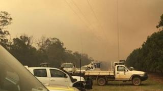 مساحات النار تلتهم شمال شرق أستراليا
