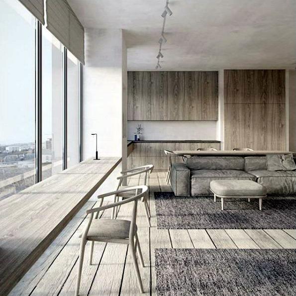 jasa arsitek rumah minimalis modern unik dan biaya interior bangun rumah