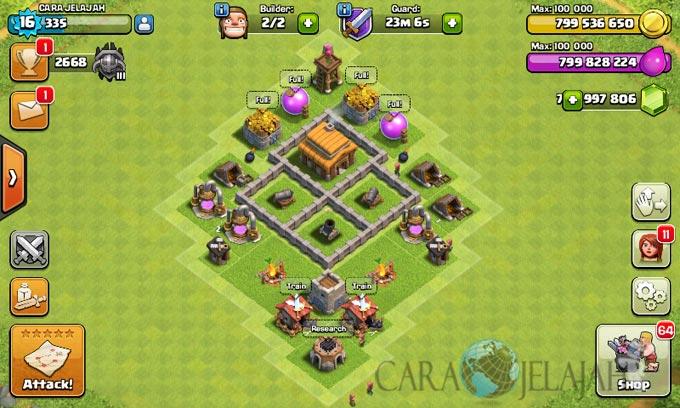 Desain Base Town Hall 3 Terbaik Dan Terbaru Clash Of Clans 15