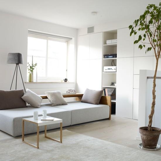 Gambar Housetohome Co Uk Desain Pertama Adalah Ruang Tamu Putih