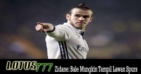 Zidane: Bale Mungkin Tampil Lawan Spurs