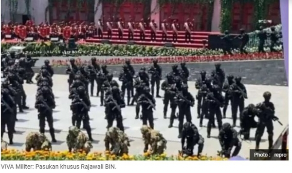 BIN Milik Pasukan Khusus Rajawali, Pengamat: Kekhwatiran Munculnya Angkatan Kelima