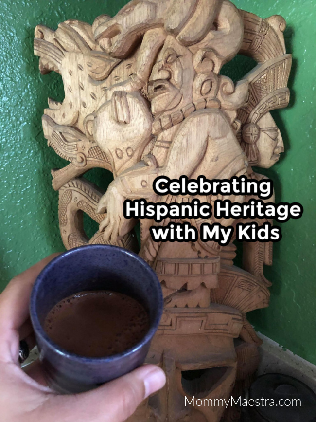 Celebrating Hispanic Heritage with my kids