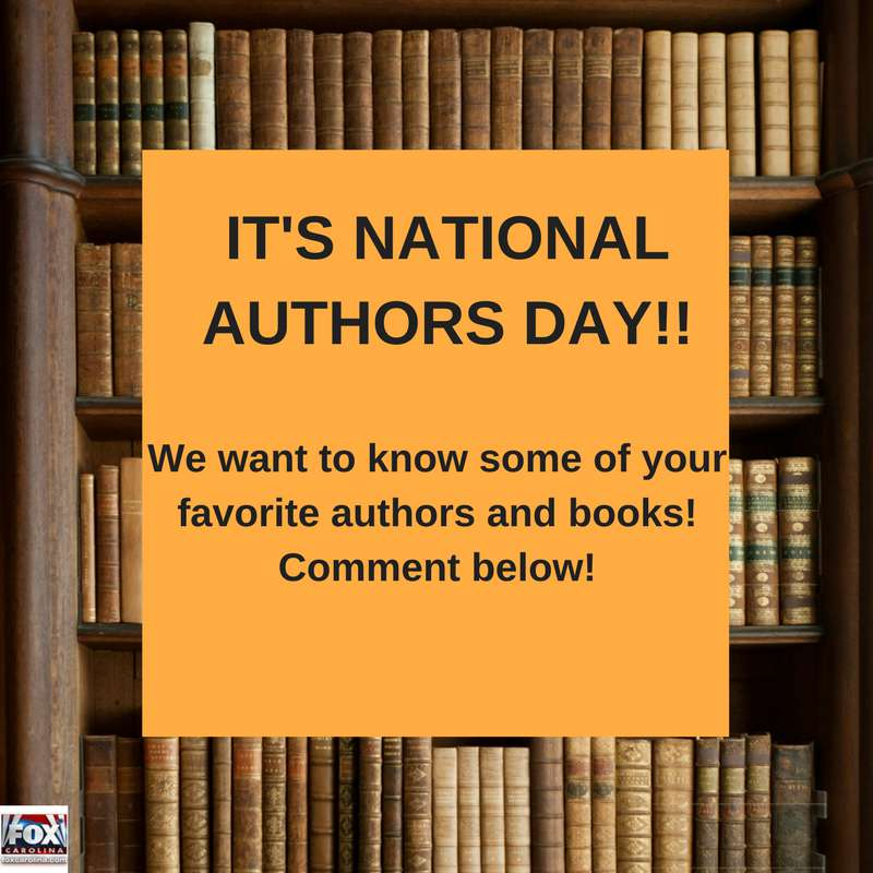 National Author's Day Wishes Awesome Picture
