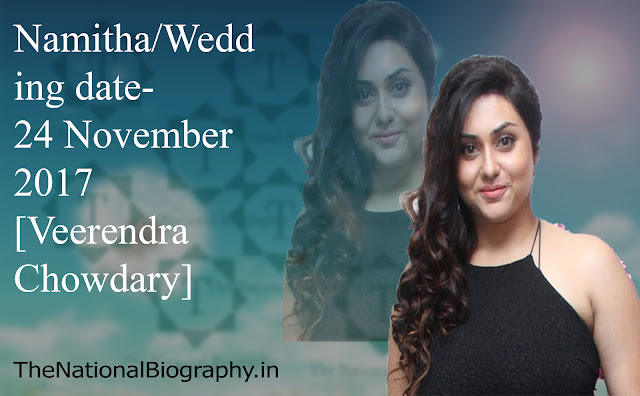 [Actress] Namitha | Height | Age | Family| Husband | Affair | Wiki | Biography | Png & More