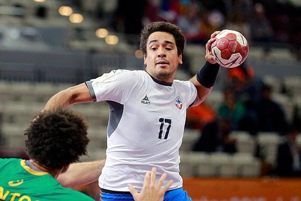 Rodrigo Salinas Handball Chile