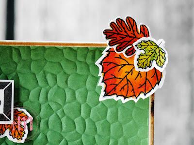 """Stampin' Up! rosa Mädchen Kulmbach: Stamp A(r)ttack Blog Hop: Herbst""""zeitlos"""" - Dekorahmen mit Für Herbst und Winter, Barn Door, Blüten des Augenblicks, Prägeform Hammerschlag und Stanzformen Handgeschrieben"""