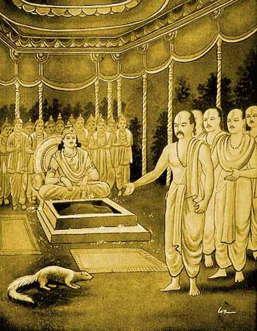 What Is True Charity As Per Hinduism? – Story Of Golden Mongoose From Mahabharata?