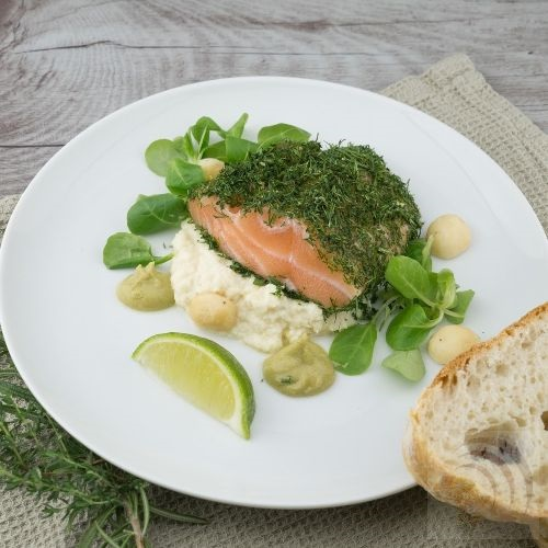Lime pickle salmon recipe