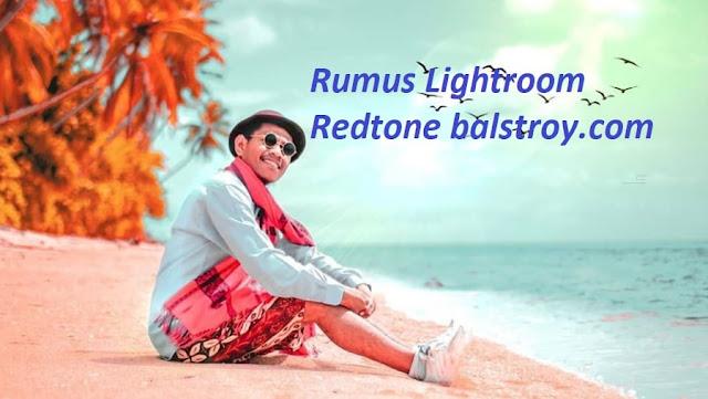 lightroom red tone