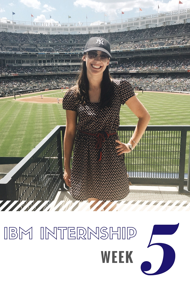 IBM Sales Internship Week 5
