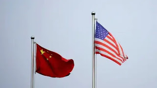 US, China trade officials hold first call , comply with promote 'healthy' ties