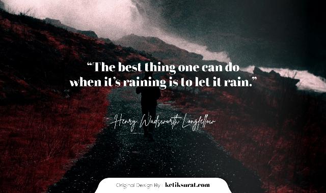 kata kata galau tentang hujan bahasa inggris