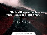 50 Quotes Tentang Hujan Dalam Bahasa Inggris dan Artinya