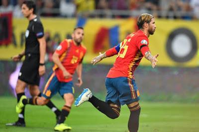 مشاهدة مباراة إسبانيا ورومانيا بث مباشر اليوم 18-11-2019 في تصفيات اليورو 2020