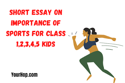 Essay on Importance of Sports