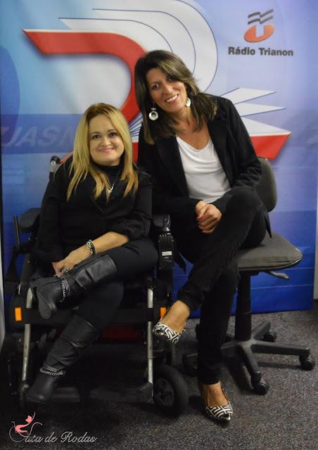 Gata de Rodas entrevistada por Inara Mel no TODAS ELAS