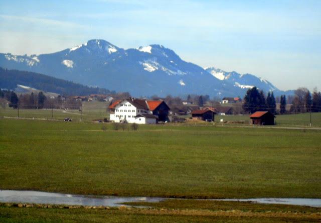 campos de Baviera, ruta en tren