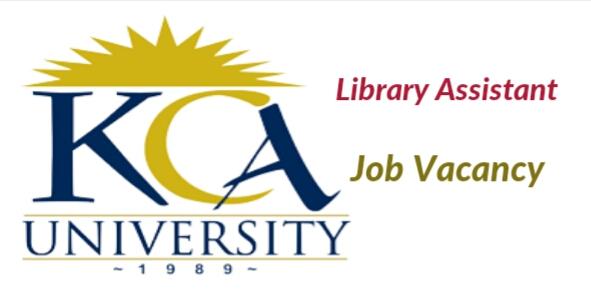 Jobs at KCA university