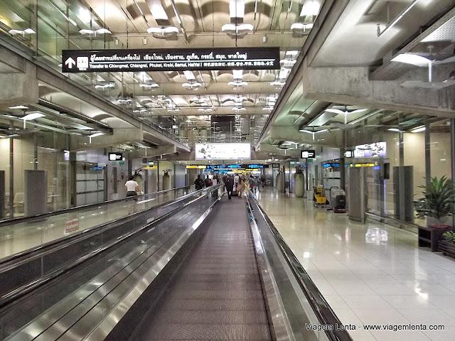 Aeroporto de Bangkok - Tailândia