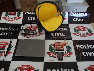 POLÍCIA CIVIL DE REGISTRO-SP APREENDE ADOLESCENTE AUTOR DE ROUBOS E FURTOS