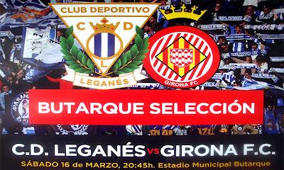 Leganés Girona #16mar 20:45h #laliga