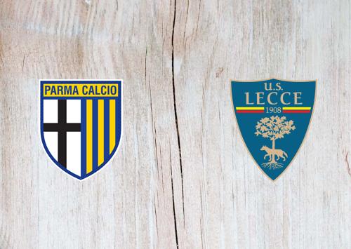 Parma vs Lecce -Highlights 13 January 2020