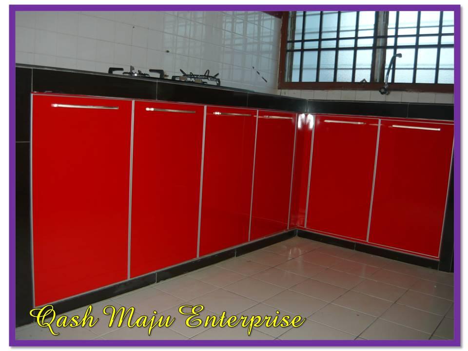 Table Top Dah Siap Mozek Hitam Dan Formeca Merah Memang Menyerlahkan Lagi Ruangan Dapur
