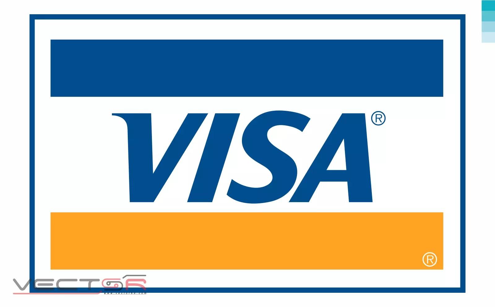 Visa (1992) Logo - Download Vector File SVG (Scalable Vector Graphics)