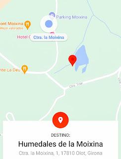 Olot (Gerona) Catalunya parte I, Humedales de la Moixina..