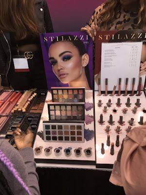 Stilazzi Cosmetics display at IMATS Toronto 2019 - www.modenmakeup.com