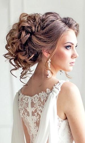 bröllopsfrisyr långt hår