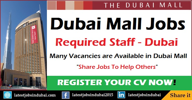 Dubai Mall careers and jobs in Dubai