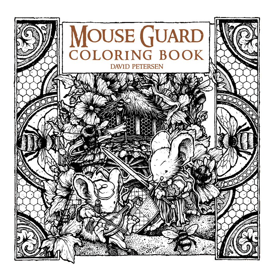 The coloring book project 2nd edition - David Petersen S Blog
